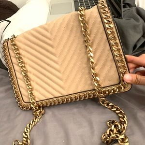 Aldo gold chain bag